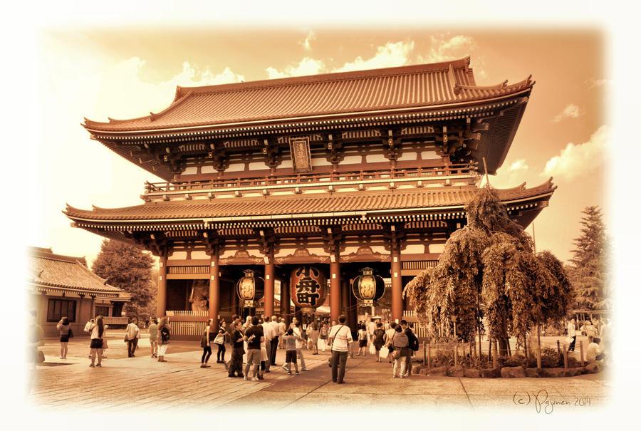 Hozomon Gate by Pajunen
