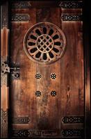 Meiji Shrine Door by Pajunen