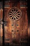 Meiji Shrine Door