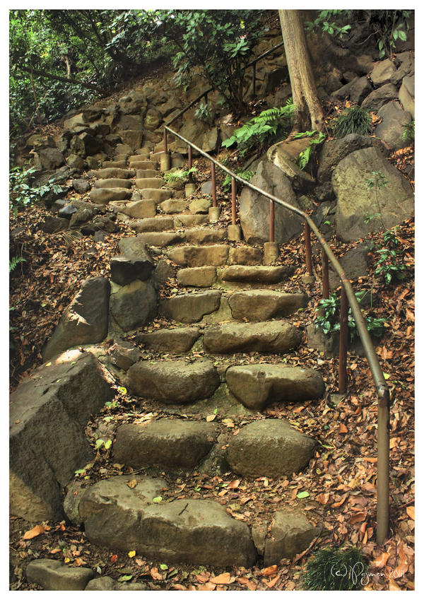 Stone Stairs by Pajunen