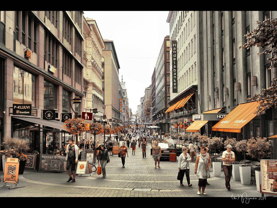 Tokyo Street Helsinki