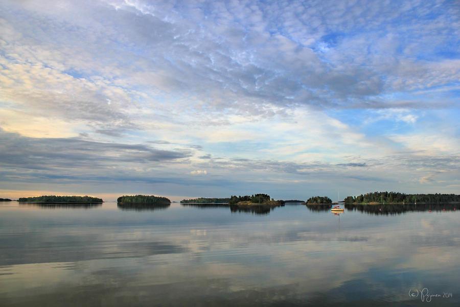 Summer Morning in Helsinki by Pajunen