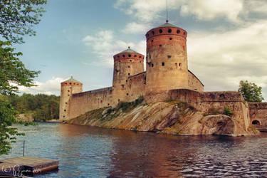Olavinlinna Castle by Pajunen