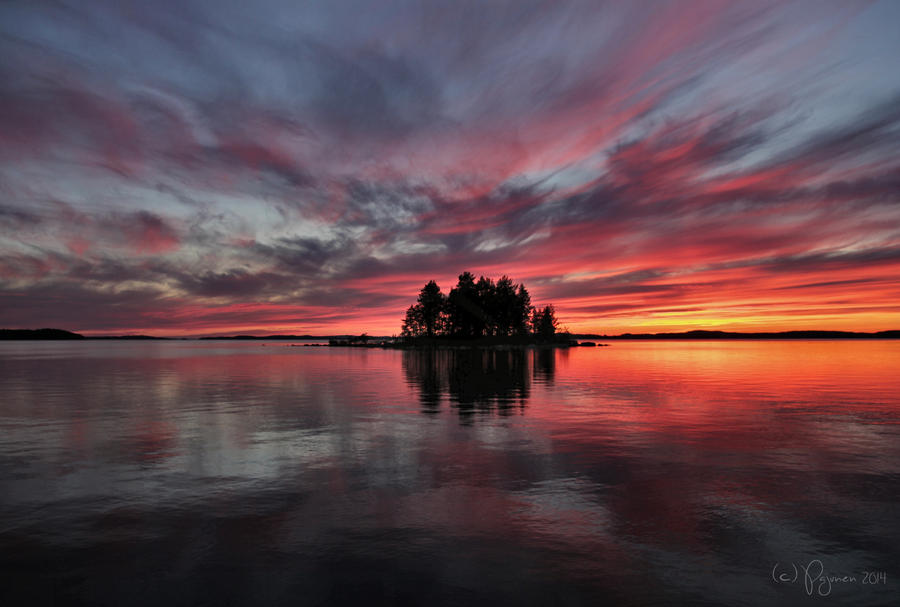 Always the summers are slipping away by Pajunen