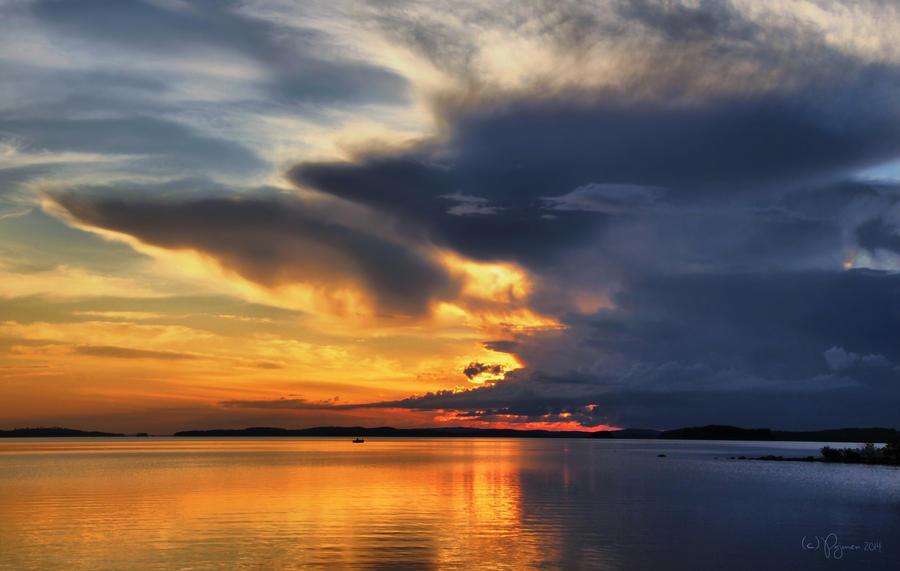 When Evening Falls by Pajunen