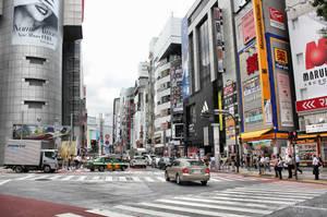 Shibuya Tokyo by Pajunen