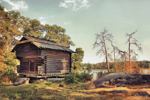Old shed by Pajunen