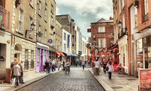 Dublin Temple Bar by Pajunen