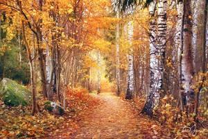 Autumn by Pajunen