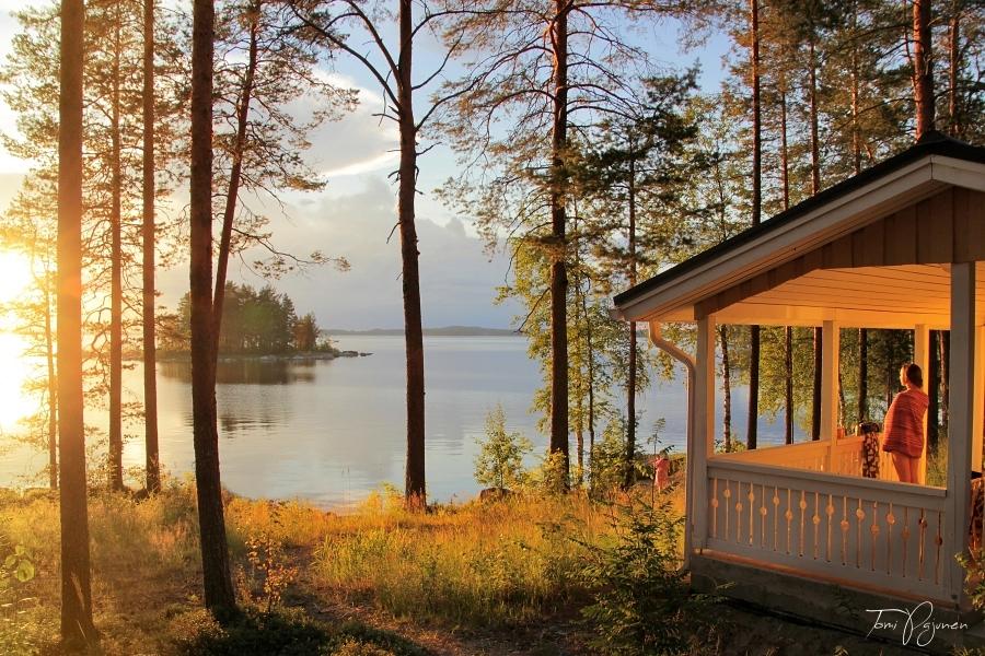 Summer Sauna by Pajunen