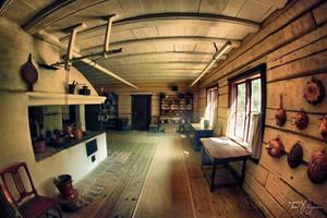 Old Kitchen II by Pajunen