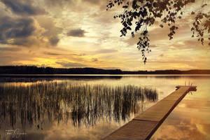 Warm summer evening by Pajunen