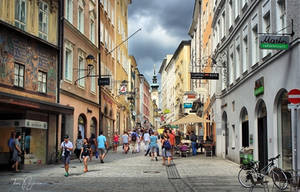 Salzburg Streets by Pajunen