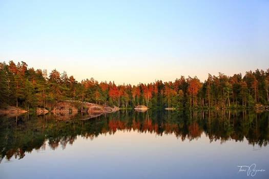 Lake Meiko in August