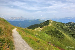 Path through the hills by Pajunen