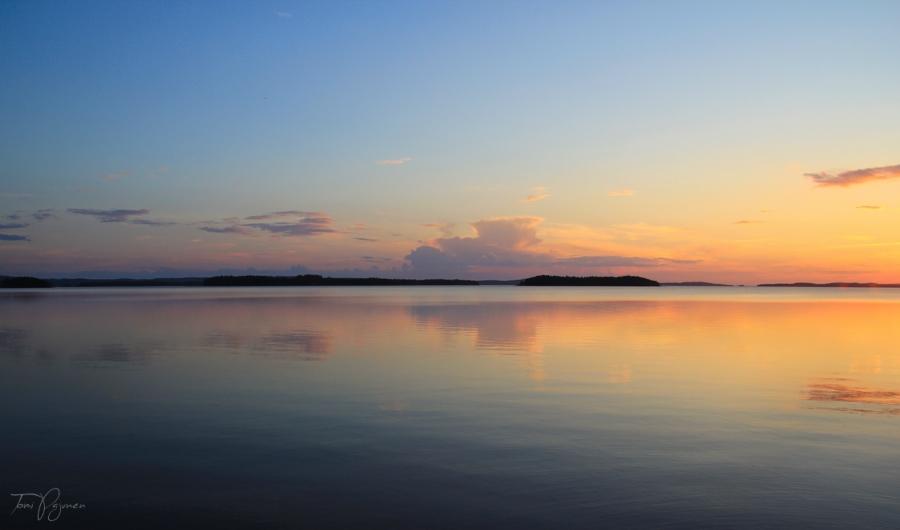 Lake Pielinen by Pajunen