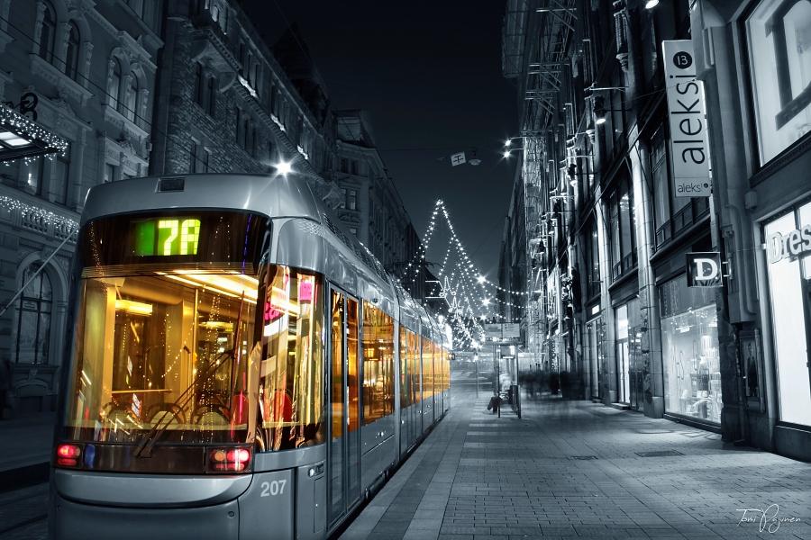 Tram 7A Helsinki by Pajunen