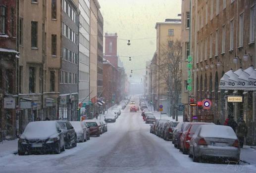 January day in Helsinki
