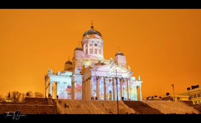 Helsinki Cathedral by Pajunen