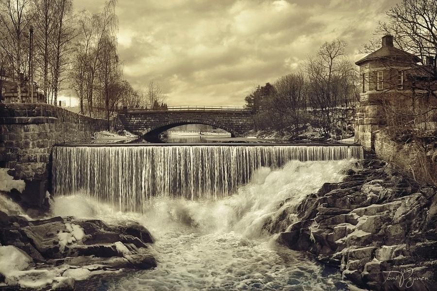 Old Helsinki by Pajunen