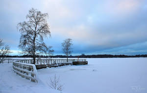Snowy Jetty II by Pajunen
