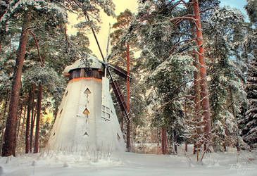 Frozen Windmill