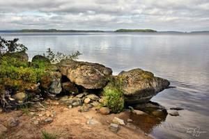 Lake Shore by Pajunen