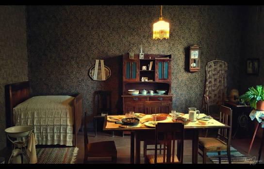 The 1920's single room home