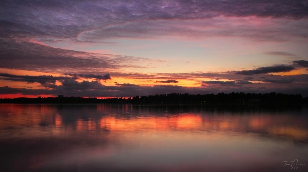 after the sunset by pajunen on deviantart