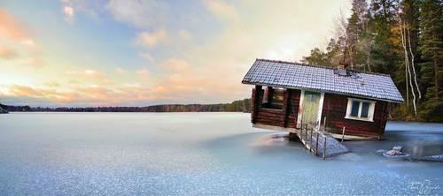Sauna by Pajunen