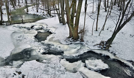 Broken Stream by Pajunen