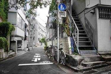 Tokyo Side Alleys by Pajunen