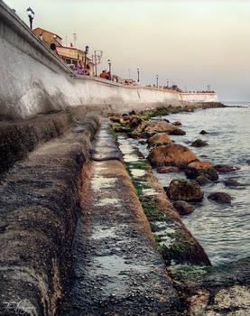 Parga harbour