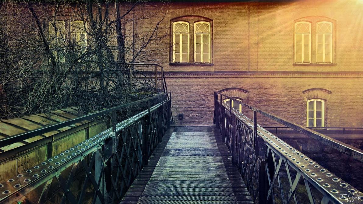 Metal Bridge by Pajunen