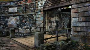 Old Drawbridge by Pajunen