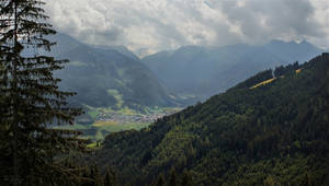 Forests and Mountains by Pajunen
