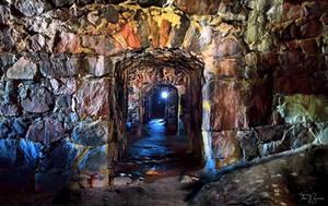 Suomenlinna tunnels by Pajunen