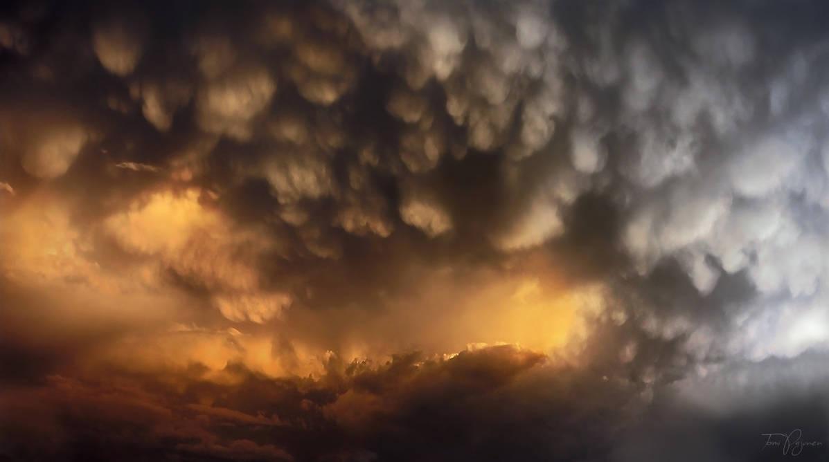 Thunderstorm above Helsinki