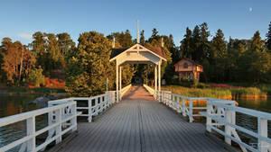 Seurasaari bridge by Pajunen
