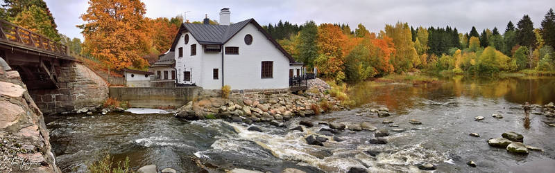 House by the river III by Pajunen