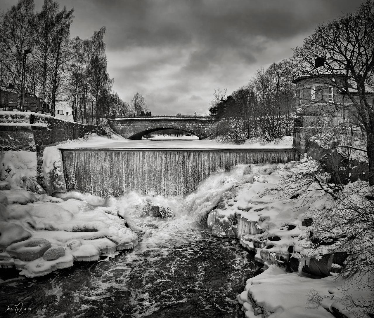 Old Helsinki III by Pajunen
