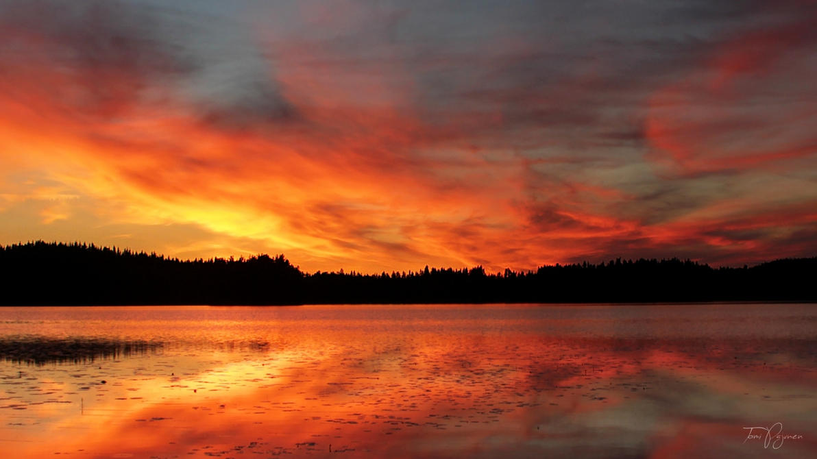 Fire in the Sky by Pajunen