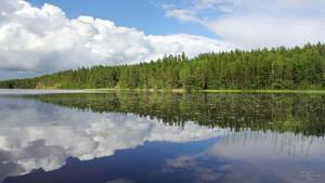 Lake view by Pajunen