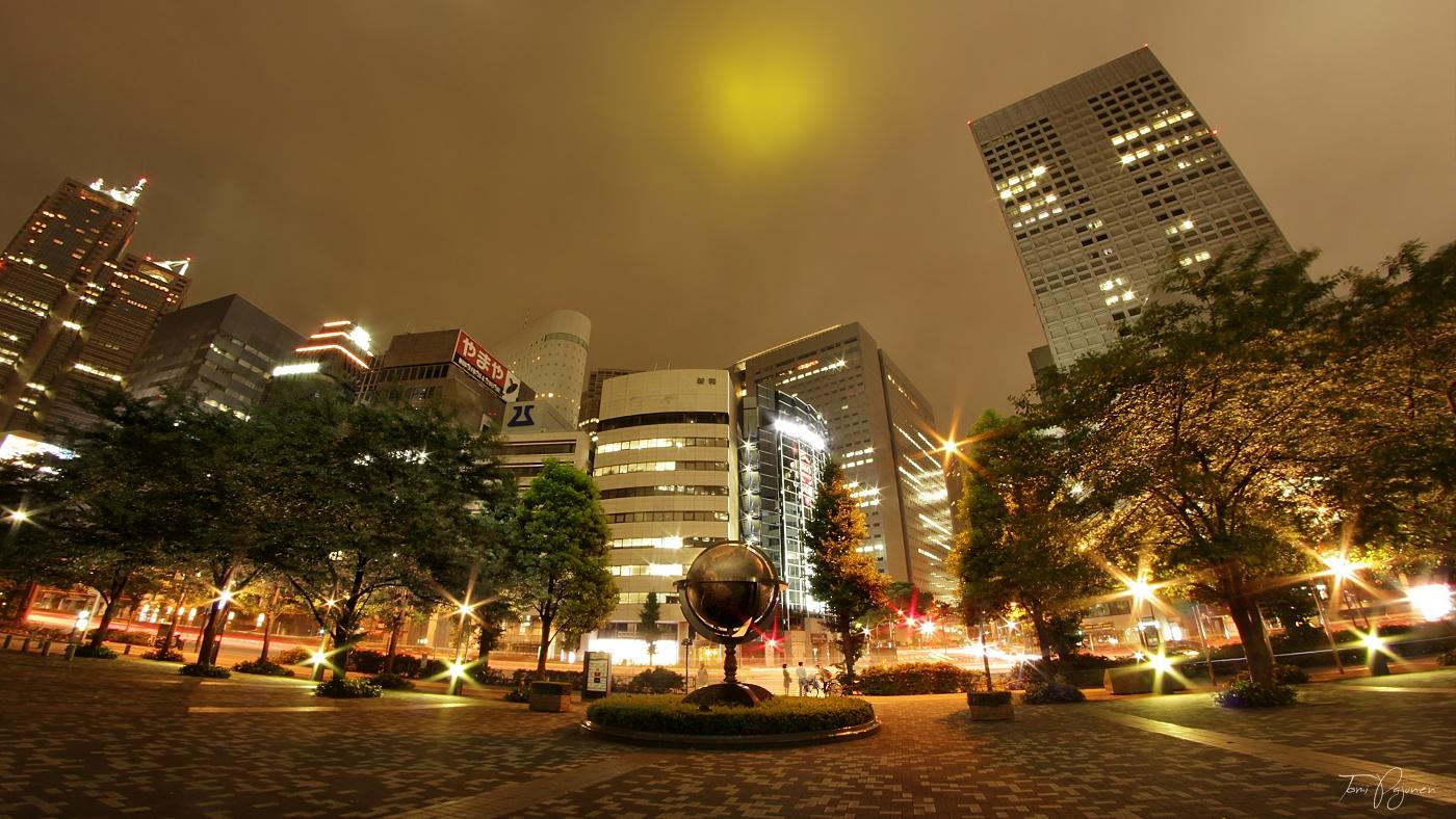 Tokyo Nights by Pajunen