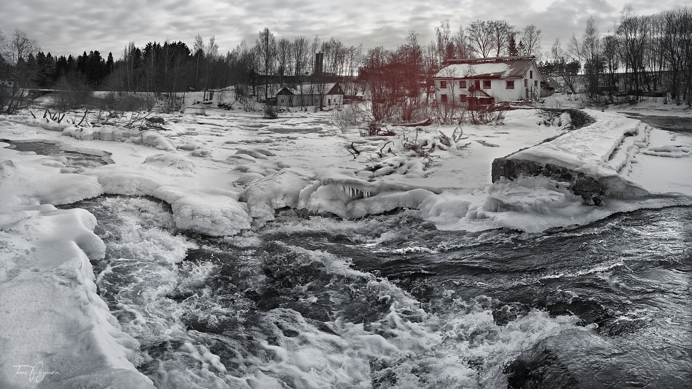 The river runs cold by Pajunen