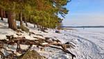 February seashore