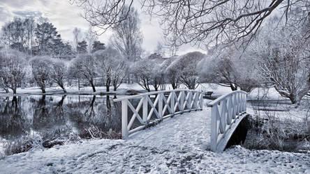 Frozen Park by Pajunen
