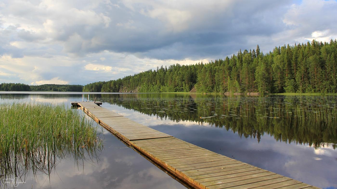 Summer in Finland by Pajunen