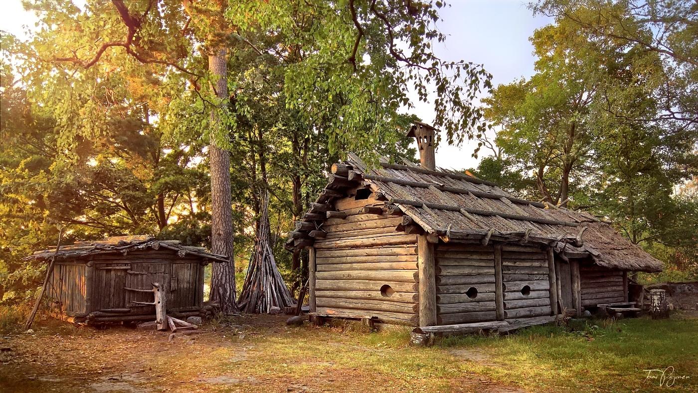 Iron Age Village by Pajunen
