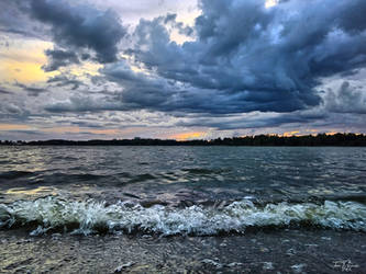 August Seashore by Pajunen
